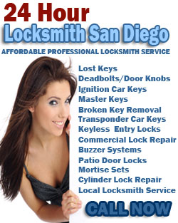 24 Hour Locksmith La Mesa